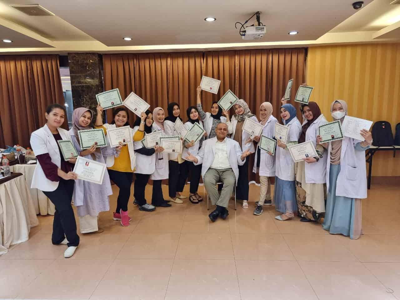 Kursus Kecantikan profesional bersama dr aldjoefrie aesthetic institute